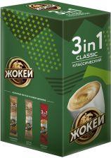 Напиток кофейный ЖОКЕЙ Классический 3в1 раств к/уп 120г