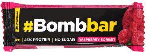 Батончик BOMBBAR Протеиновый Малиновый сорбет в шоколаде 40г