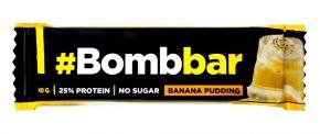 Батончик BOMBBAR Протеиновый Банановый пудинг в шоколаде 40г