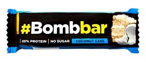 Батончик BOMBBAR Протеиновый Кокосовый торт в шоколаде 40г