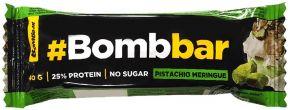 Батончик BOMBBAR Протеиновый Фисташковая меренга в шоколаде 40г