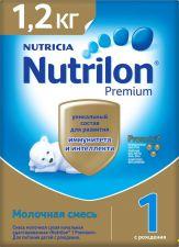 Д/п смесь NUTRILON 1 Premium с 0 мес картон 1200г