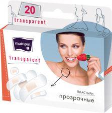 Пластыри MATOPAT Transparent 20шт