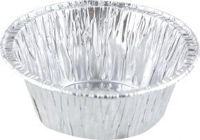 Форма д/выпечки круглая 8x4см, алюминиевая фольга