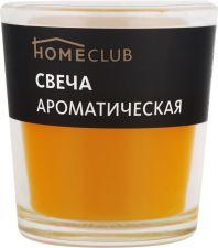 Свеча HOMECLUB аромат. в стакане манго (Россия) HOME CLUB аромат. в стакане манго