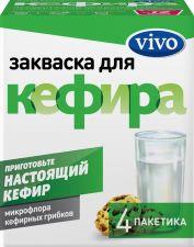 Закваска VIVO для Кефира без змж 0,5г*4пак