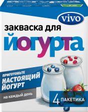 Закваска VIVO для Йогурта без змж 0,5г*4пак