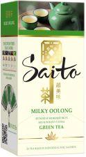 Чай зеленый SAITO Milky Oolong с ароматом молока к/уп 25пак