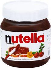 Паста NUTELLA Ореховая с добавлением какао 350г