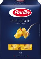 Макароны BARILLA Pipe Rigate n.91 гр. А в/с 450г