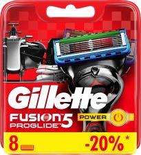 Кассеты д/бритья FUSION Power Fusion Proglide сменные 8шт