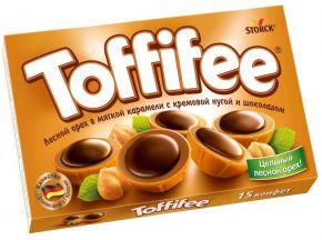 Конфеты TOFFIFEE Орешки в карамели 125г