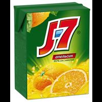 Сок J-7 Апельсиновый с мяк. д/д.п. т/пак.