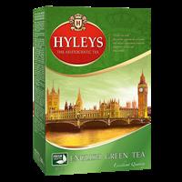 Чай зеленый HYLEYS Английский круп.лист. к/уп