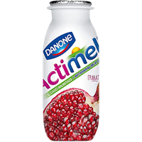 Продукт молочный DANONE обог. L.Casei Imun вит В6,Д3 Актим Иммун гранат 2,5%
