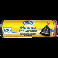 Мешки для мусора SWIRL с завязками 120 л