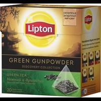 Чай зеленый LIPTON Байховый Green Gunpowder к/уп