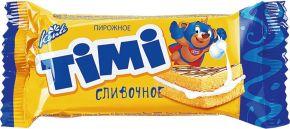 Пирожное ТИМИ Сливки 30г
