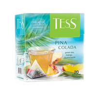 Чай зеленый TESS Пина Колада пирамидки