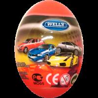 Игрушка WELLY Модель машины 1:60 яйцо-сюрприз в ассорт. 52020E