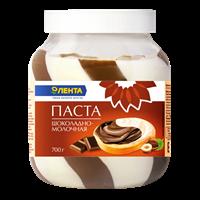 Паста ЛЕНТА шоколадно-молочная