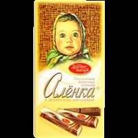 Шоколад КРАСНЫЙ ОКТЯБРЬ Аленка в стиках с молочной начинкой