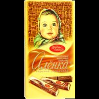 Шоколад КРАСНЫЙ ОКТЯБРЬ Аленка в стиках с вареной сгущенкой