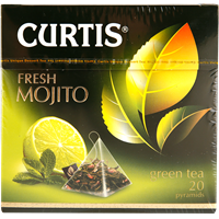 Чай зеленый CURTIS Fresh Mojito к/уп