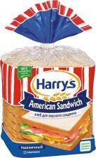 Хлеб HARRY'S Аmerican sandwich пшеничный 470г