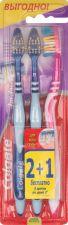 Зубная щетка COLGATE Zig-Zag Plus 2+1 сред жест в подарок