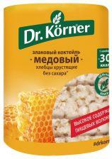 Хлебцы DR KORNER Злаковый коктейль медовый 100г