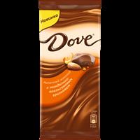 Шоколад DOVE Молочный миндаль, апельсин, грил.