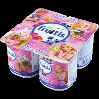 Продукт йогуртный FRUTTIS паст.Герои Disney А,Д,Е д/дет.с 3-х л. с малин/черникой 2,5%