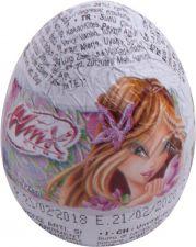 Яйцо шоколадное LUIGI ZAINI Винкс с сюрпризом 20г