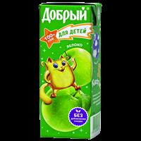 Сок ДОБРЫЙ Яблочный т/пак.