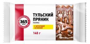 Пряник 365 ДНЕЙ Тульский с фруктовой начинкой 140г
