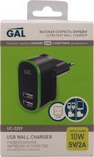 Блок питания GAL UC-2209/2229сетевой USB 2A