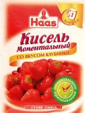 Кисель HAAS Моментальный клубника 30г