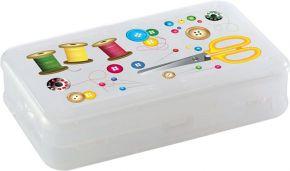 Коробка д/мелочей БЫТПЛАСТ 225x135x53 мм, пластик