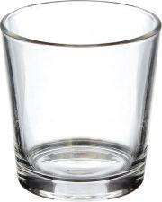 Стакан 365 ДНЕЙ/ОТЛИЧНАЯ ЦЕНА низкий 250 мл,стекло, в ассорт