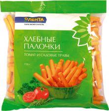 Палочки ЛЕНТА хлебные томат садовые травы 150г