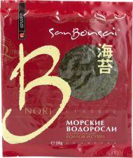Морские водоросли BONSAI Нори д/суши 28г
