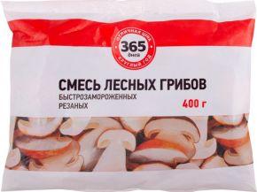 Смесь грибная 365 ДНЕЙ из лесных грибов рез с/м 400г