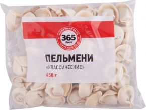 Пельмени 365 ДНЕЙ Классические 450г