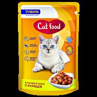 Корм для кошек ЛЕНТА консервированный  с курицей