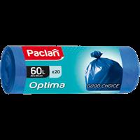 Мешки для мусора PACLAN Optima 60л 402240