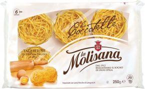 Макароны LA MOLISANA 202 Tagliatelle Лапша яичная в гнездах твердые сорта 250г