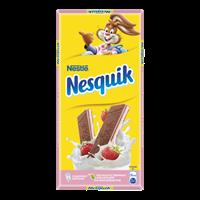 Шоколад NESQUIK Nestle Молочный с клубничной начинкой