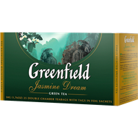 Чай зеленый GREENFIELD Jasmine Dream в Термосаше к/уп