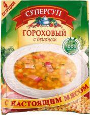 Концентрат пищевой СУПЕРСУП гороховый с беконом 70г